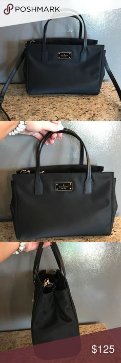❗️NWOT Black Kate Spade Loden Black Avenue❗️ Brand new Loden Black Avenue Cross-body. Comes with detachable strap! Perfect size- has two openings inside with a middle part containing a zipper pocket. No marks, flaws, etc. Brand new without tags! PERFECT condition 😊 kate spade Bags Crossbody Bags