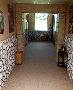 Entrance hall to Bible Adventures room