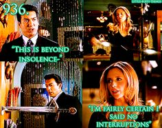 Buffy putting the Watcher's Council in their place is quite possibly one of my favorite scenes ever. lol