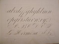 """Método de caligrafía inglesa; R. Stirling, 1843  STIRLING, RAMÓN """"Método paraaprenderá escribir en pocas lecciones..."""