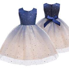 2019 Mädchen Prinzessin Sommer Mode Kleid Urlaub Weihnachten Kind Geschenk