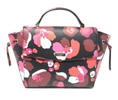 NWT Kate Spade Lilah Laurel Way Printed Floral WKRU4097 Satchel Bag Handbag $359