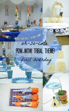 24 Inspiring Photos From A Pow-Wow, Tribal Theme First Birthday Party