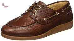 Sebago Gary Jobson Leather Tumbled, flâneurs homme, Marron (Tan), 42 EU - Chaussures sebago (*Partner-Link)