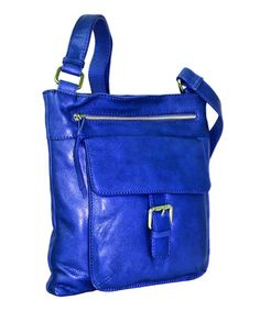 6b2fa1b2cf3c Nino Bossi Handbags Blue Covington Crossbody Bag