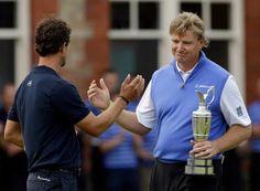 July 25, 2012      Loved seeing Ernie Els win British Open; hated seeing Adam Scott lose it.