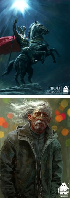 Illustrations and Concept Art by Michael Kutsche | Inspiration Grid | Design Inspiration