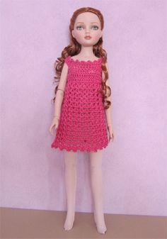 Passion Poupées: La robe d'Ellowyne