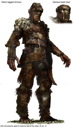 Giant concept art Jack The Giant Slayer, Fantasy Creatures, Goblin, Fantasy Characters, Concept Art, Character Design, Gangsters, Soldiers, Medieval