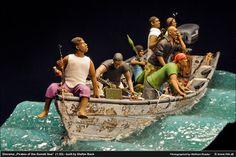 Pirates of the Somali Sea 1/35 Scale Model Diorama
