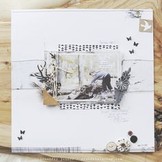 dearest someday — woodland paper crafting kit