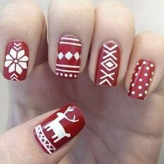 30 Christmas Nails ‹ ALL FOR FASHION DESIGN