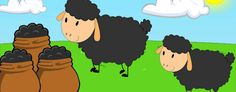 Baa Baa Black Sheep Lyrics is an English Nursery rhyme whose earliest version from is 1731. Rudyard Kipling utilized the rhyme as the title of a short story. Nursery Rhymes Lyrics, Kids Nursery Rhymes, Rhymes For Kids, Baa Baa Black Sheep, If Rudyard Kipling, Short Stories, Toddlers, English, Songs