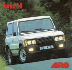 Romanian built sport utility vehicle, as sold in France with this brochure. Old Jeep, Jeep 4x4, Mercedes Gl, Concept Cars, Romania, Cars And Motorcycles, Offroad, Art Deco, Trucks