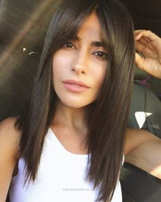 Marvelous sazan hair, haircut, bangs, fall trends, hair trends, blogger, beauty, lee rittiner, straight hairstyles, hairstyles for, how to, style, tips, beauty, makeup, bridget bardot, modern bang ..