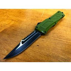 OTF & Autos – Midtech Knives Electrician Tool Bag, Custom Pocket Knives, Weapon Storage, Automatic Knives, Glass Breaker, Cool Gadgets To Buy, Handmade Knives, Tactical Knives, Green