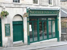 Glasgow based Mother India Cafe, Infirmary Street, Edinburgh.
