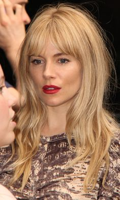 Sienna Miller's Gorgeous Fringe At The Theatre World Awards