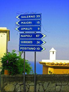 Amalfi Coast...stopped at Salerno, Amalfi, Sorrento & Positano
