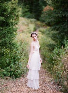 Edwardian Tulle Lace Skirt by ShopGossamer on Etsy
