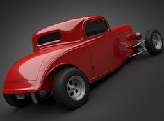 Visit The MACHINE Shop Café... ❤ Best of Hot Rod @ MACHINE ❤ (Vern Luce's '33 Boyd Coddington)