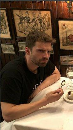 Sebastian ✪ Stan: He's so prettttttttty Sebastian Stan, Marvel 3, Marvel Actors, Bucky Barnes, Chris Evans, Vampire Diaries, James Barnes, James Buchanan, Dc Movies