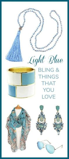 Light Blue Jewelry & Accessories Hand Picked Collection