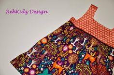 Tunika / Hängerchen Empirchen 110 / 116 von RehKidz Design  auf DaWanda.com Pdf Sewing Patterns, Girls, Etsy, Design, Fashion, Tunics, Toddler Girls, Moda, Daughters