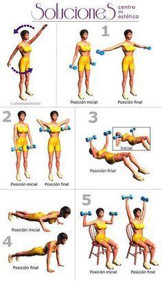 semana 3 ejercicios para bajar de peso y tonificar pecho