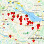 Švýcarské agentury pro ošetřovatelky, pomocnice do domácnosti Diagram, Map, Location Map, Maps