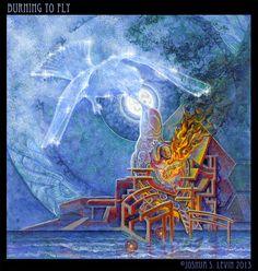 Burning to Fly - Joshua S. Levin