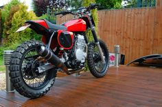 Honda NX650 Dominator Street Tracker - Grease n Gasoline