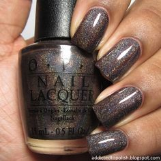 OPI has been known in the nail world for quite some time. They have so many different colors, and so we've gathered 40 best OPI nail polish colors just for you. Opi Nail Polish Colors, Metallic Nail Polish, Opi Nails, Opi Polish, Acrylic Nails, Elegant Nail Designs, Elegant Nails, Cute Nails, Pretty Nails