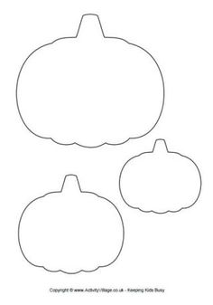 Pumpkin Template.  This site has many good printables!