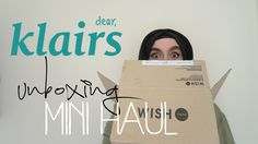 KLAIRS UNBOXING/MINI HAUL   TheDawdlingDuo