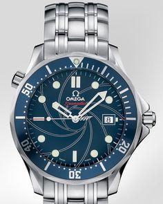 OMEGA Seamaster 300 M Chronometer Steel on Steel James Bond Limited Edition Casino Royale
