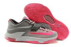http://www.jordan2u.com/nike-zoom-kd-7-grey-pink.html NIKE ZOOM KD 7 GREY PINK Only $62.00 , Free Shipping!