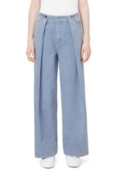 Weekday image 2 of Lollo Trousers in Blue