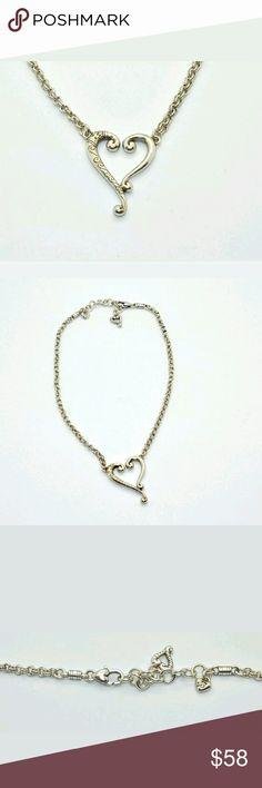 Brighton boho heart necklace beautiful silver Brighton and so classy. Brighton  Jewelry Necklaces
