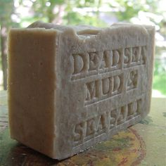 #Natural Dead Sea Mud Soap With Dead Sea Salt (Unscented) #Soap  Natural #handcrafted mud soap removes dirt and cleanses your skin, while simultaneously infusing it with minerals essential to keeping your skin hydrated and moisturized. Formulated using mineral rich black mud from the shores of The Dead Sea, with a base of olive, palm, coconut and avocado oils not only gently cleanses away oil, bacteria and dirt particles, leaving skin purified, and fully cleansed, but has lots of creamy…