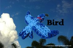 Rainbow Loom bird charm  ♥Subscribe YouTube Channel:  https://www.youtube.com/user/ElegantFashion360  ♥ Sing up for Newsletter: http://elegantfashion360.com
