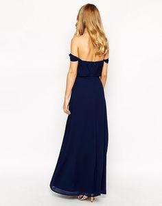 Image 2 ofJarlo Petite Florence Off Shoulder Maxi Dress