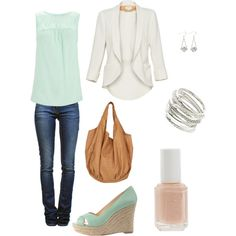 Spring, created by bluepanda14 on Polyvore