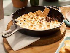 Jeff's Skillet S'Mauros Video : Food Network