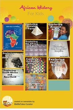 African History For Kids {from Look! We're Learning! } #kbnmeme