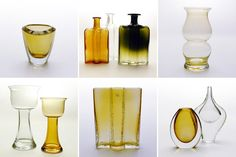 1950s Scandinavian Glass #0098 - Collections - Obsessionistas - collectors & their collections