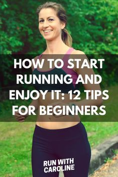 How to start running and enjoy it: 12 tips for beginners - Run With Caroline Proper Running Form, Beginners Guide To Running, Cool Down Stretches, 5k Training Plan, Running Routine, Couch To 5k, How To Start Running, Body Workouts, Running Motivation