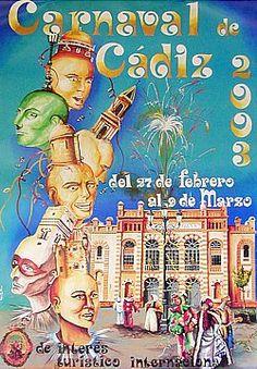 Cartel Carnaval de Cadiz año 2003