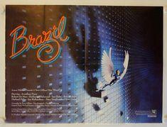 80s Sci Fi, Sci Fi Films, Cinema Posters, Film Posters, Brazil Film, Quad, Philip K Dick, Best Sci Fi Movie, Jonathan Pryce