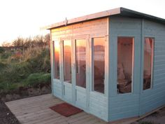 The Helios Walton's Summerhouse...perfect for watching a sunset in! #sunset #summerhouse #gardenbuilding